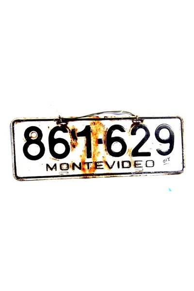 PLACA MONTEVIDEO 629