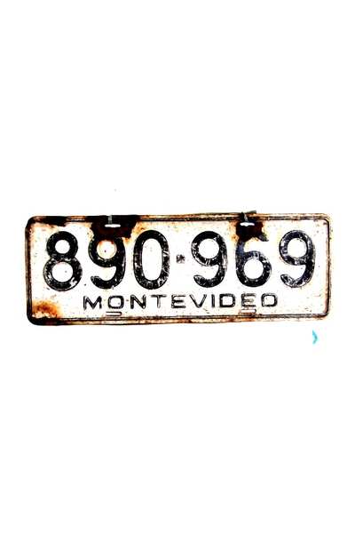 PLACA MONTEVIDEO 969